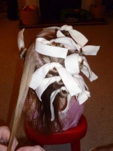 Rolling curls